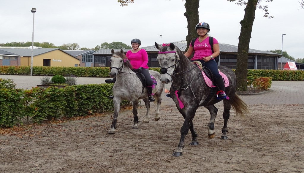 Enjoy the Ride voor Pink Ribbon in oktober