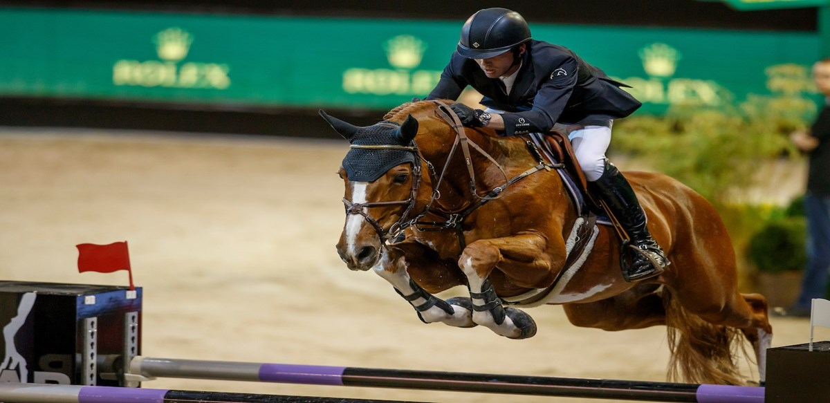 Harrie Smolders derde in Rolex Grote Prijs The Dutch Masters *VIDEO*