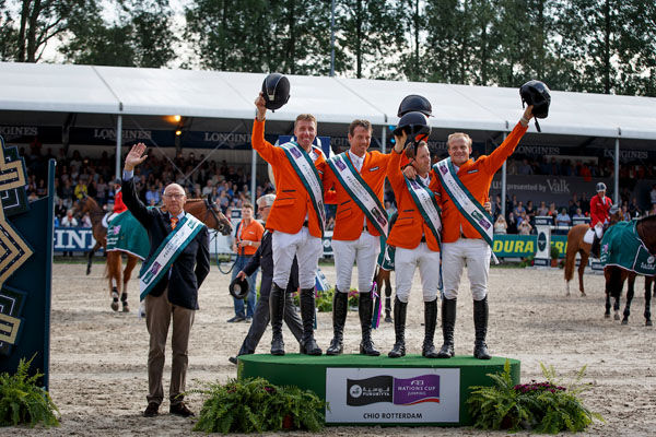 Teams FEI Nations Cups Falsterbo bekend