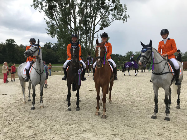 Sterk Nederlands Eventingteam tweede in Nations Cup Le Pin au Haras