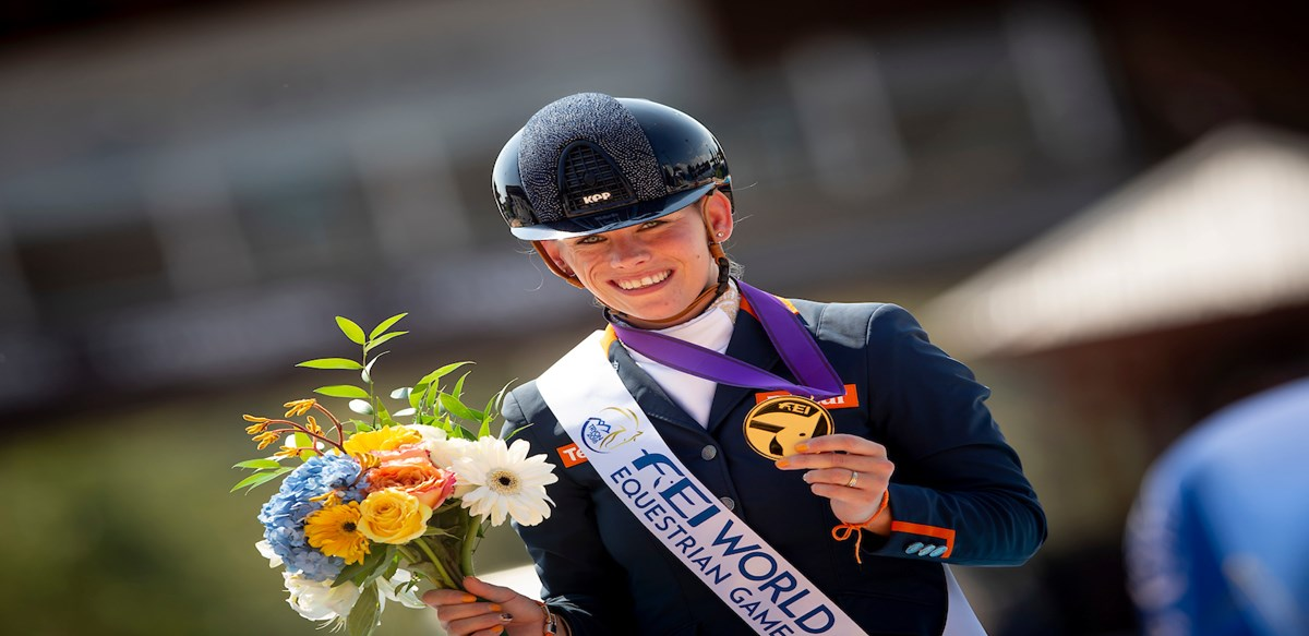 Tryon 2018: Rixt van der Horst prolongeert wereldtitel *video*