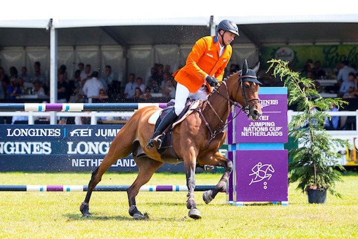 Oranje springruiters tweede in Nations Cup of the Netherlands