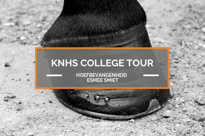 11 september: KNHS College Tour Hoefbevangenenheid met Esmee Smiet