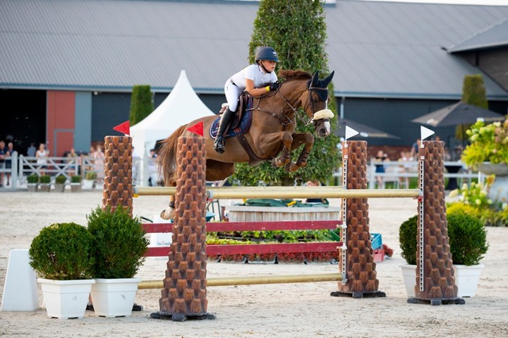 Ponyteam derde, Children vierde in FEI CSIO Youth Final