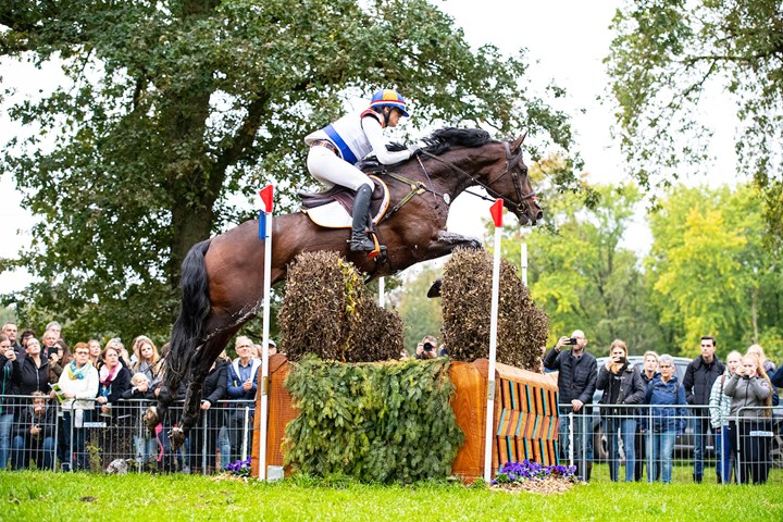 NK Eventing tijdens Dutch Open Eventing in Kronenberg