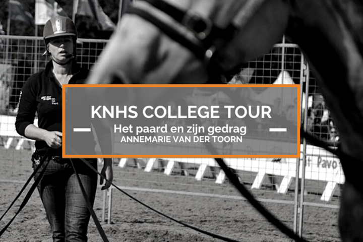 23 september KNHS College Tour met Annemarie van der Toorn
