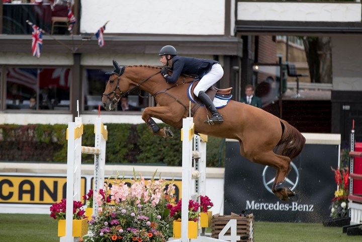 Romp en Hendrix in top tien Spruce Meadows
