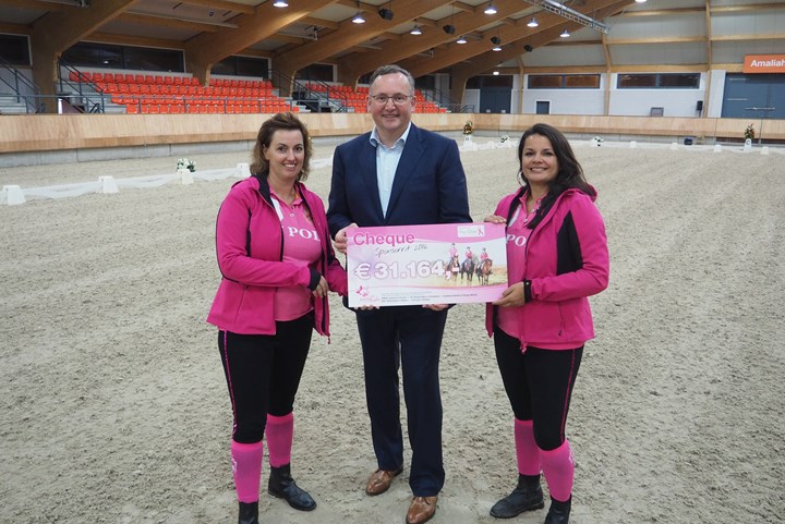 Enjoy the Ride sponsorritten brengen €31.164,- op voor Pink Ribbon