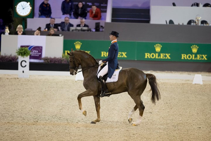 Minderhoud tweede in Grand Prix Indoor Brabant ´17