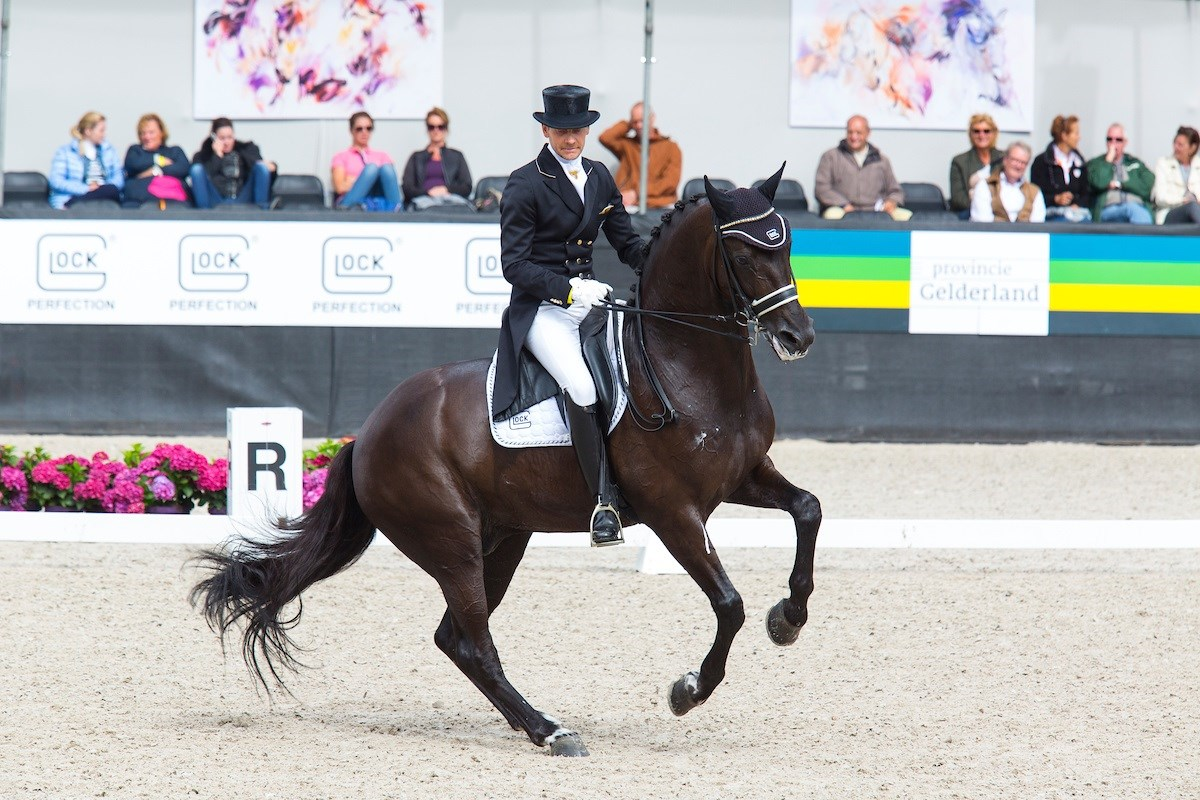 NK Dressuur: Edward Gal wint Grand Prix Special met Glock's Voice *VIDEO*