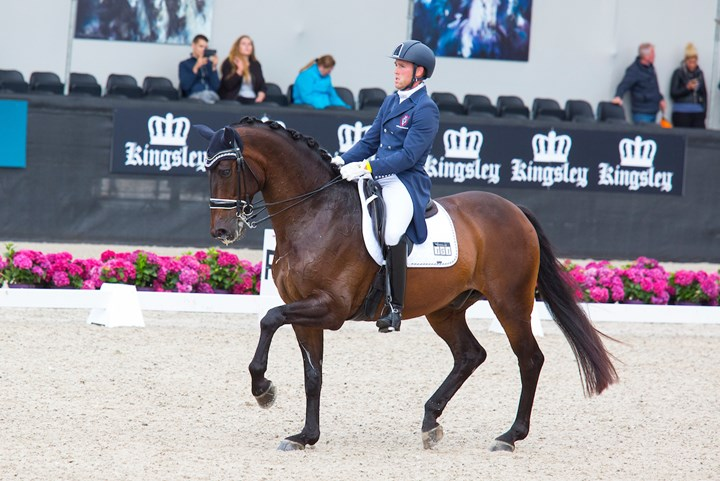 Dressuurteam tweede in FEI Nations Cup Hickstead