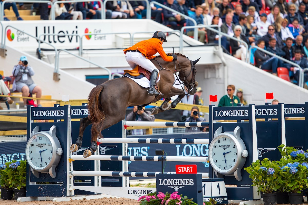 Longines titelsponsor FEI Nations Cup en World Cup springen