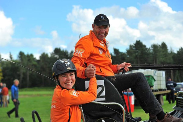 Nederlands vierspanteam wint in Breda