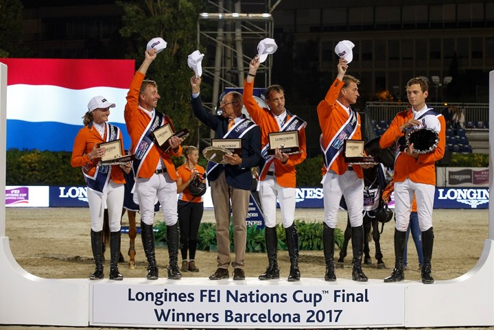 Springruiters winnen finale Longines FEI Nations Cup™