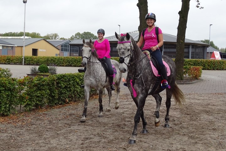 Enjoy the Ride voor Pink Ribbon in oktober