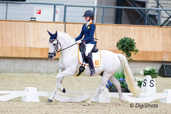 Team EK dressuur pony's bekend