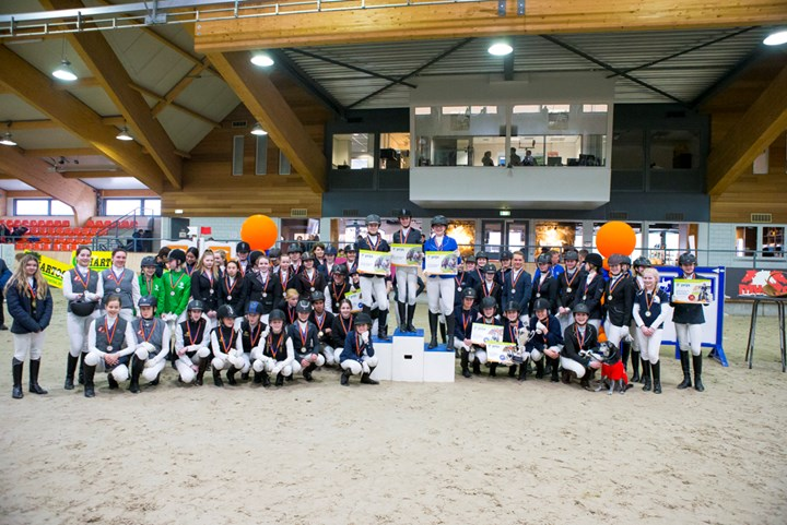 Finale KNHS-FNRS Springcompetitie een groot feest