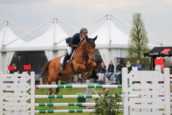 Springruiters zevende in Nations Cup Rome
