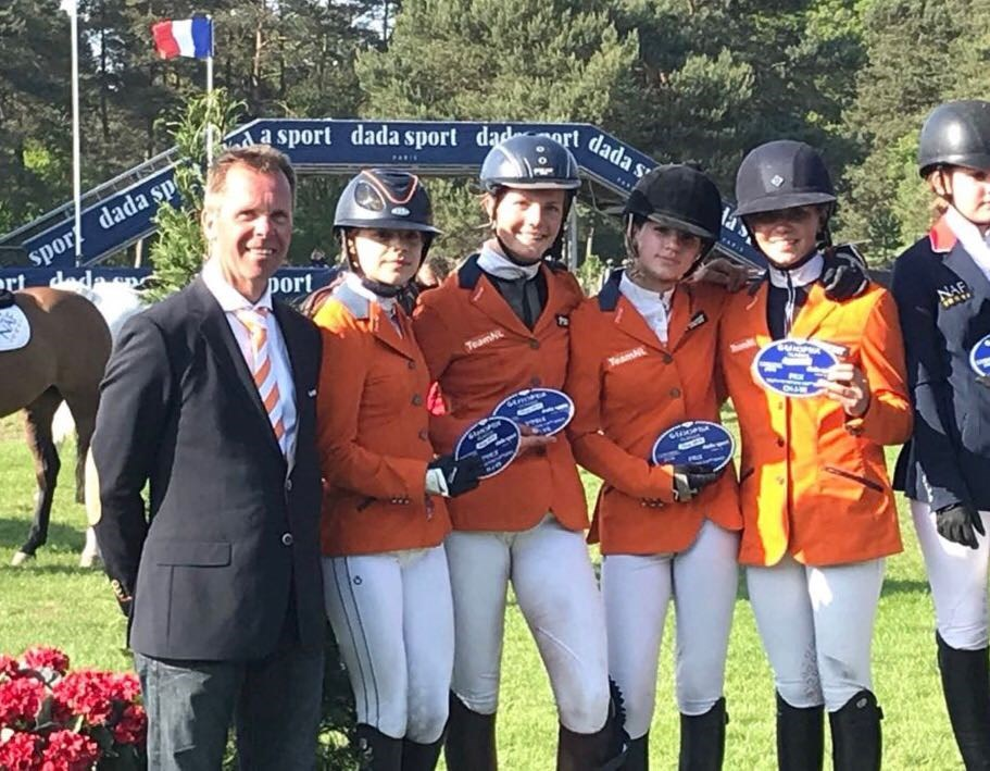 Children tweede in Landenwedstrijd Fontainebleau