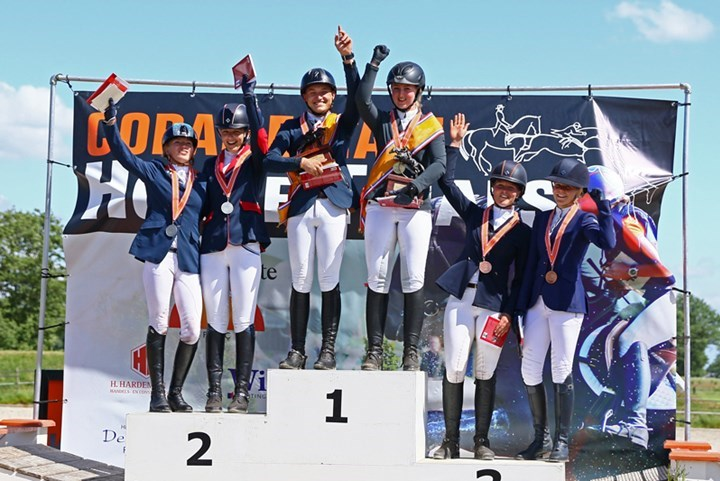 NK Eventing Junioren en Young Riders tot 2020 in Renswoude