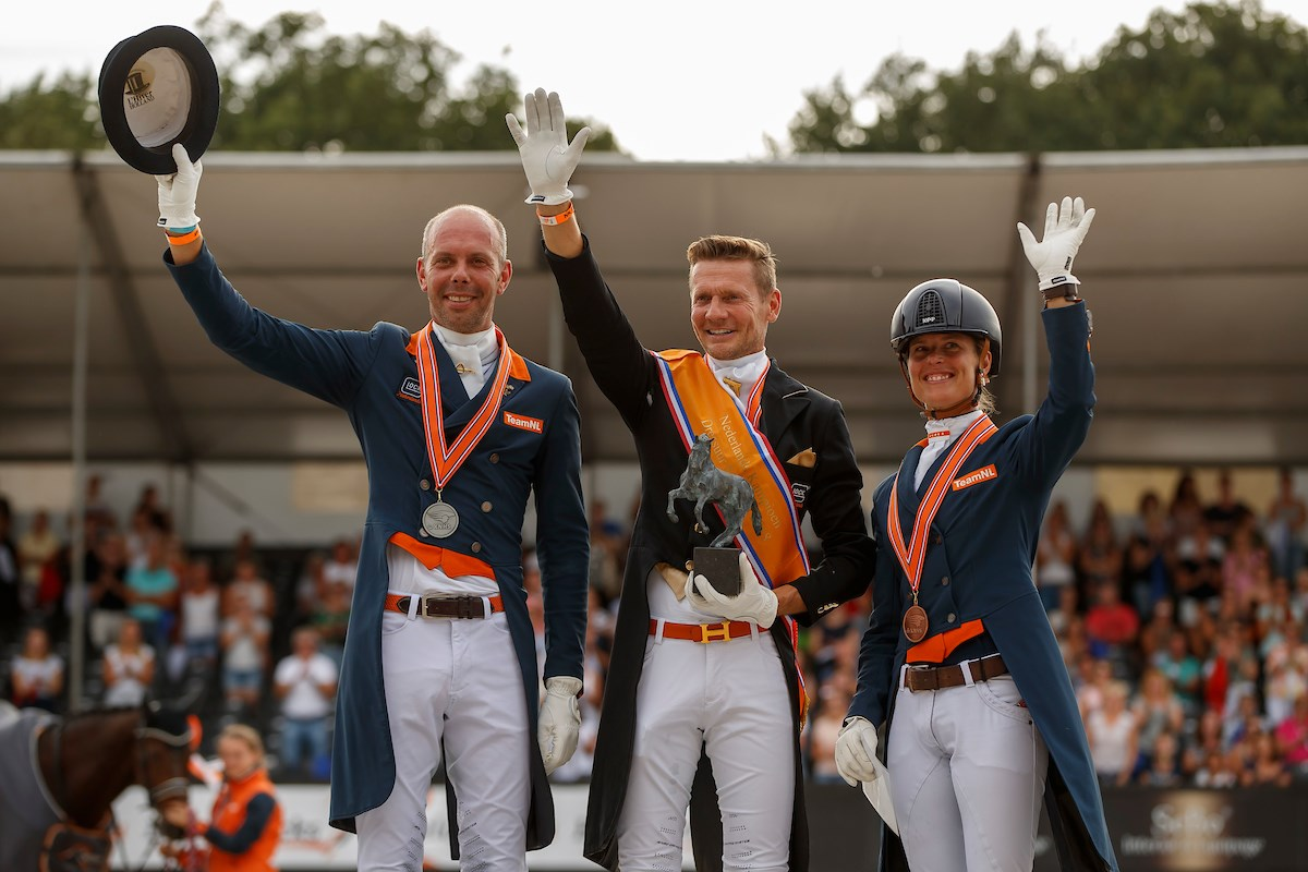 Negende dressuurtitel voor Edward Gal *VIDEO*
