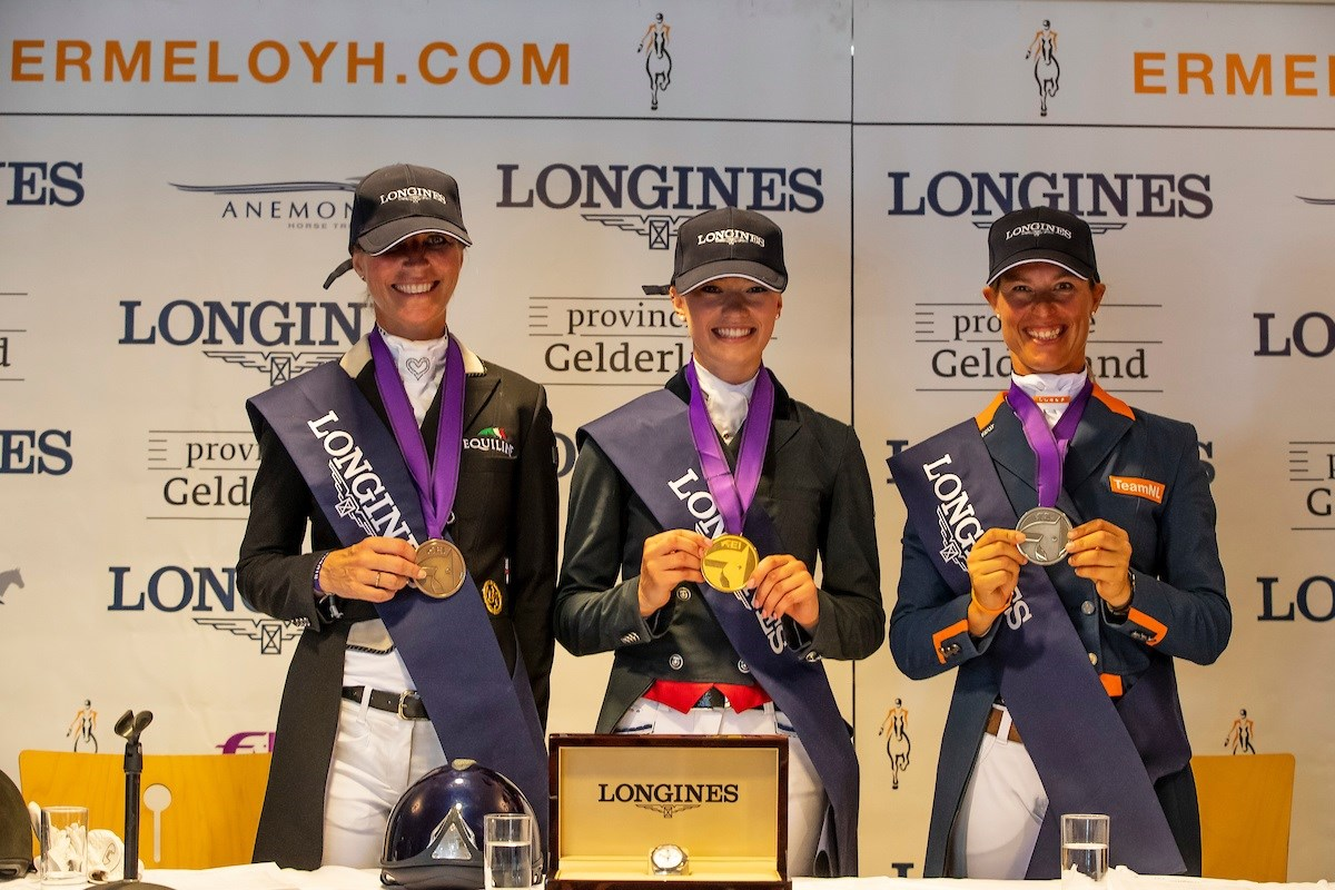 WK-zilver voor Adelinde Cornelissen en Governor STR *VIDEO en Update*