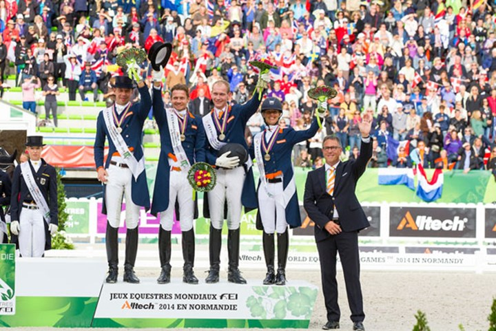 Tryon 2018: Dressuurteam verdedigt brons *video*