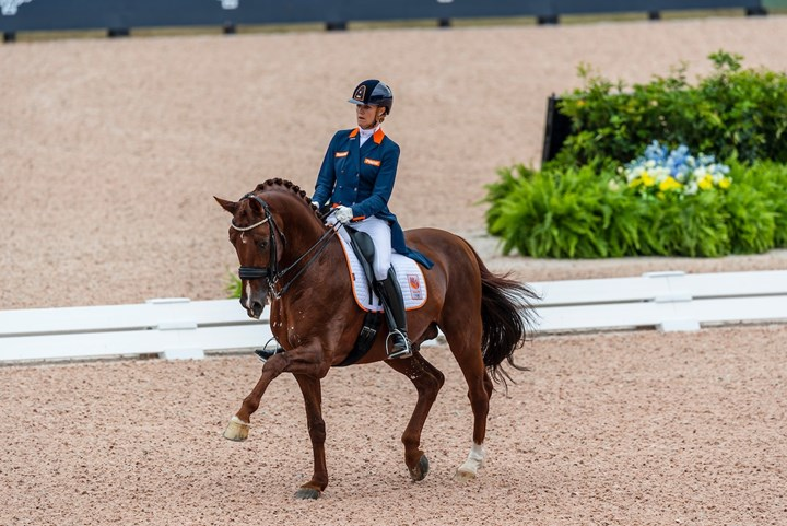 Tryon 2018: Madeleine scoort 72.96% in Grand Prix