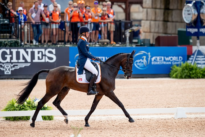 Tryon 2018: Kroeze scoort pr in eventingdressuur