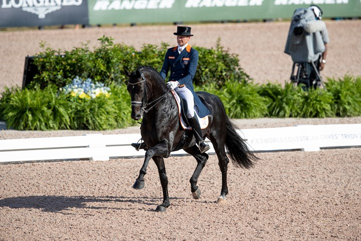 Tryon 2018: Edward Gal zevende in Grand Prix Special