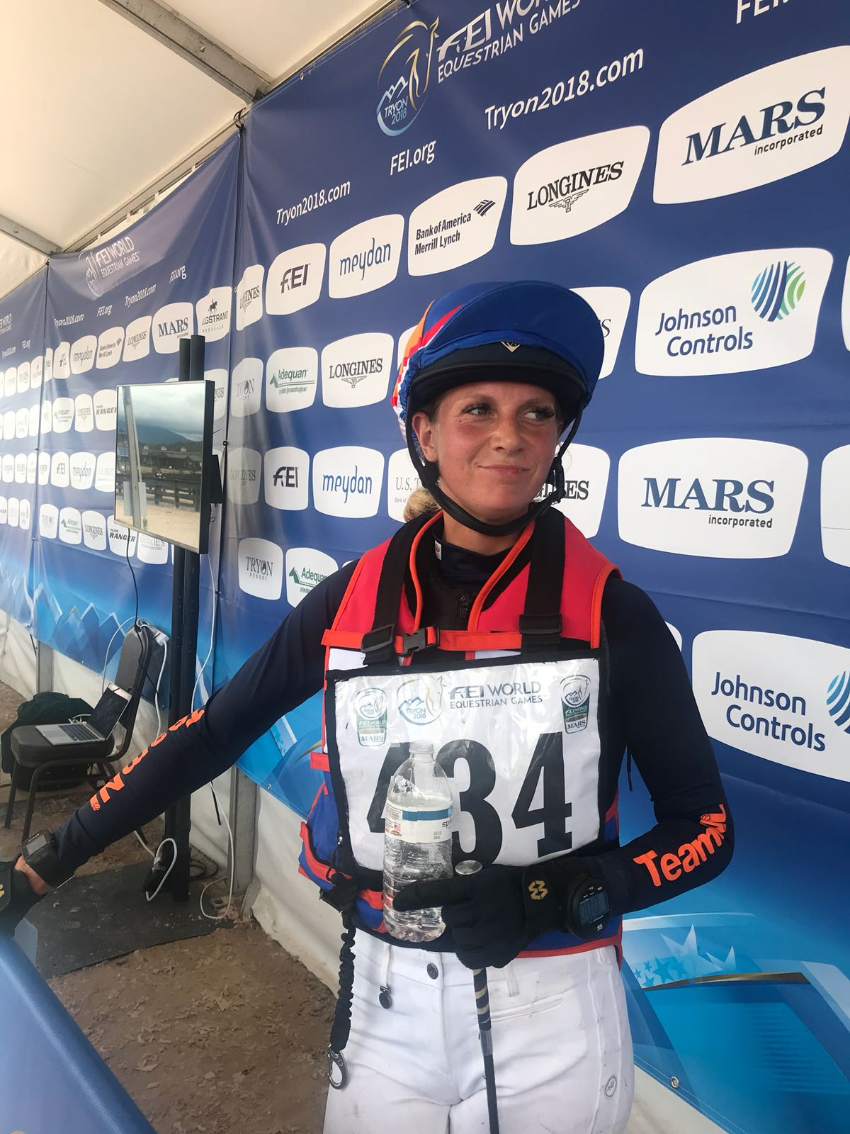 Tryon 2018: Top cross voor debutant Renske Kroeze *VIDEO*