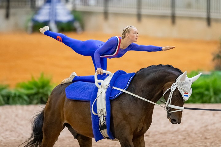 Tryon 2018: Voltige van start, Roy Rogers zesde *Update*
