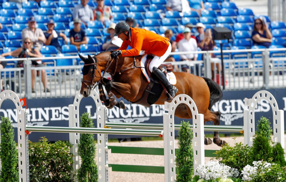 Tryon 2018: Superrit van Marc Houtzager *Video*