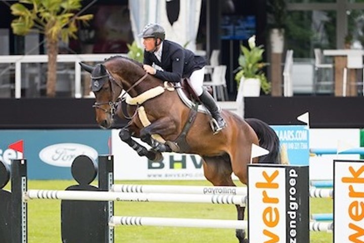 Springruiters TeamNL vijfde in FEI Nations Cup Dublin