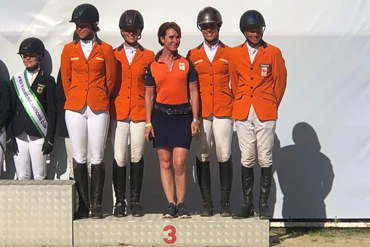 Eventingruiters TeamNL derde in FEI Nations Cup Strzegom