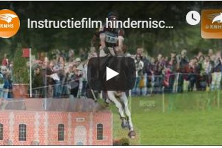 INSTRUCTIEFILM VOOR HINDERNISCONTROLEURS
