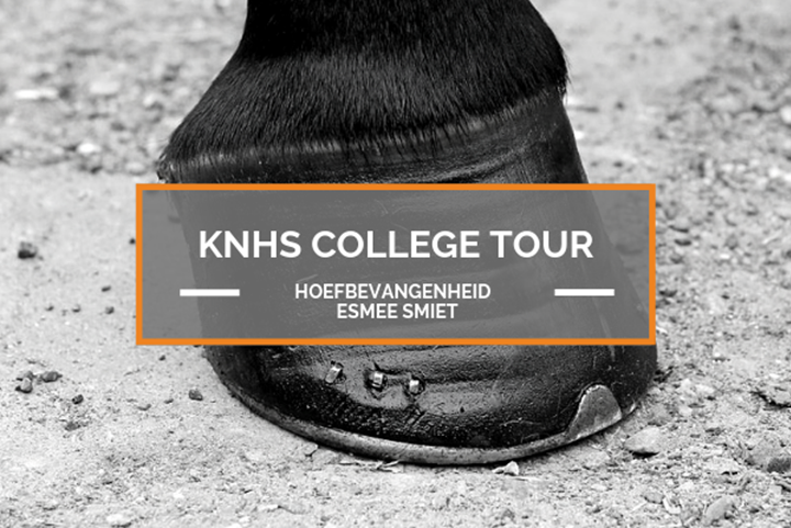 11 september KNHS College Tour Hoefbevangenenheid met Esmee Smiet