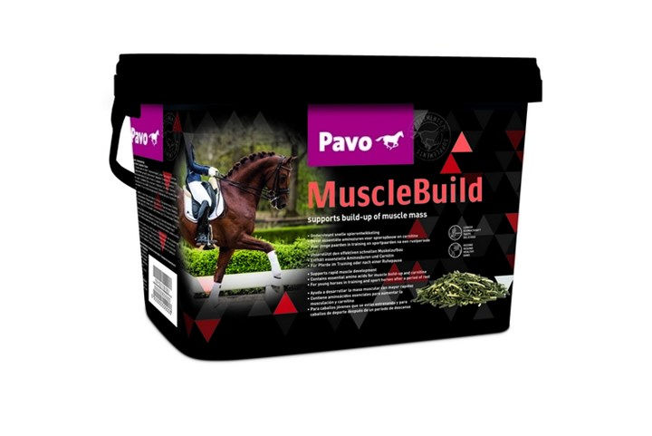 15% korting op Pavo MuscleBuild
