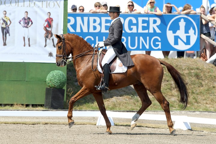 World Dressage Masters Kür in Falsterbö