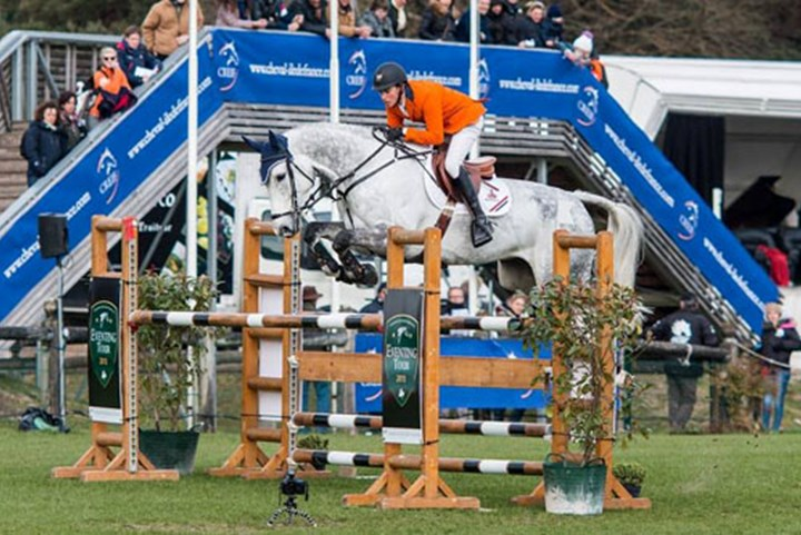 Oranje eventing team vierde in eerste FEI Nations Cup 2015