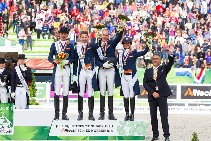 Nederland tweede in FEI Nations Cup™ Dressage 2015 pilot series