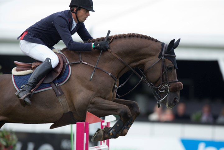 Harrie Smolders tweede in Global Champions Tour Wenen