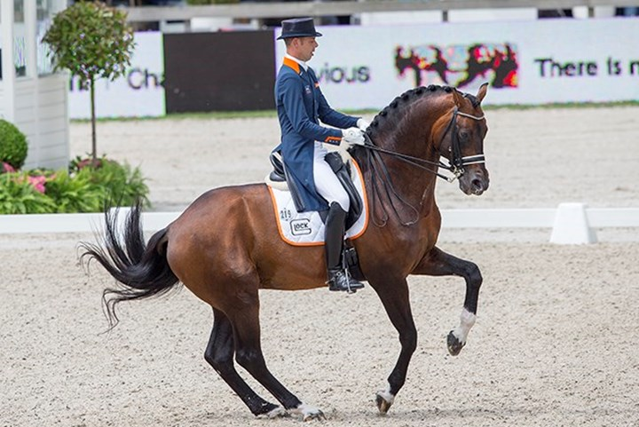 Sterke start dressuurteam in Nations Cup Rotterdam