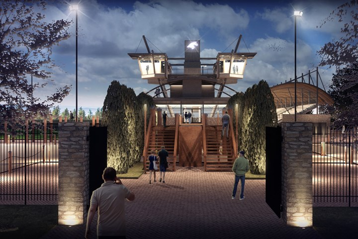Nieuwe Tops International Arena in Valkenswaard