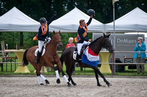 Young Riders-team naar EK Eventing in Strzegom