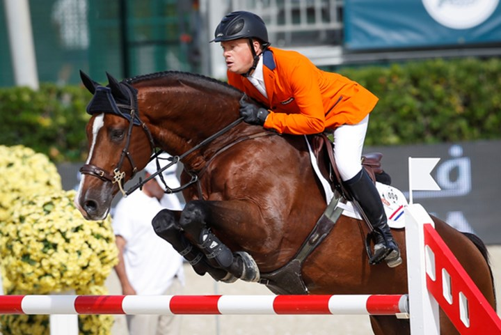 Springruiters zeker van finale Nations Cups in Barcelona