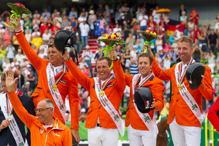 WK paardensport in 2018 naar Amerikaanse Tryon