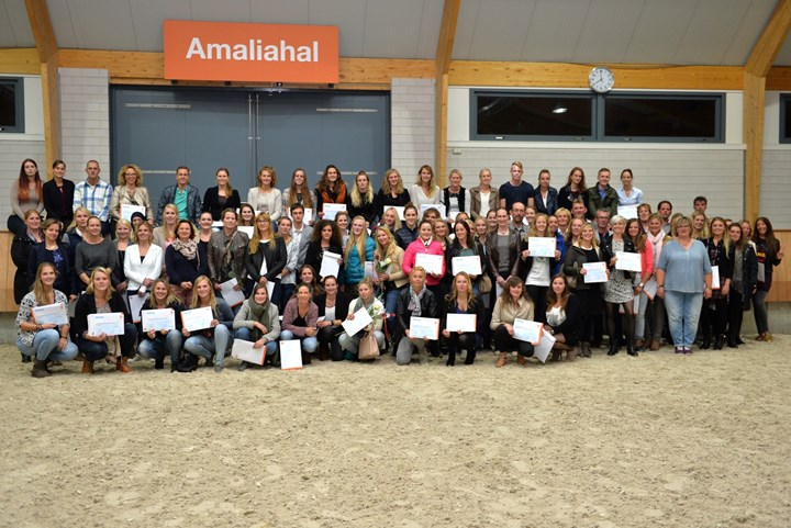 105 nieuwe Instructeurs Paardensport