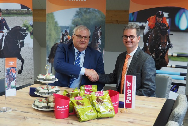 Pavo nieuwe official partner KNHS