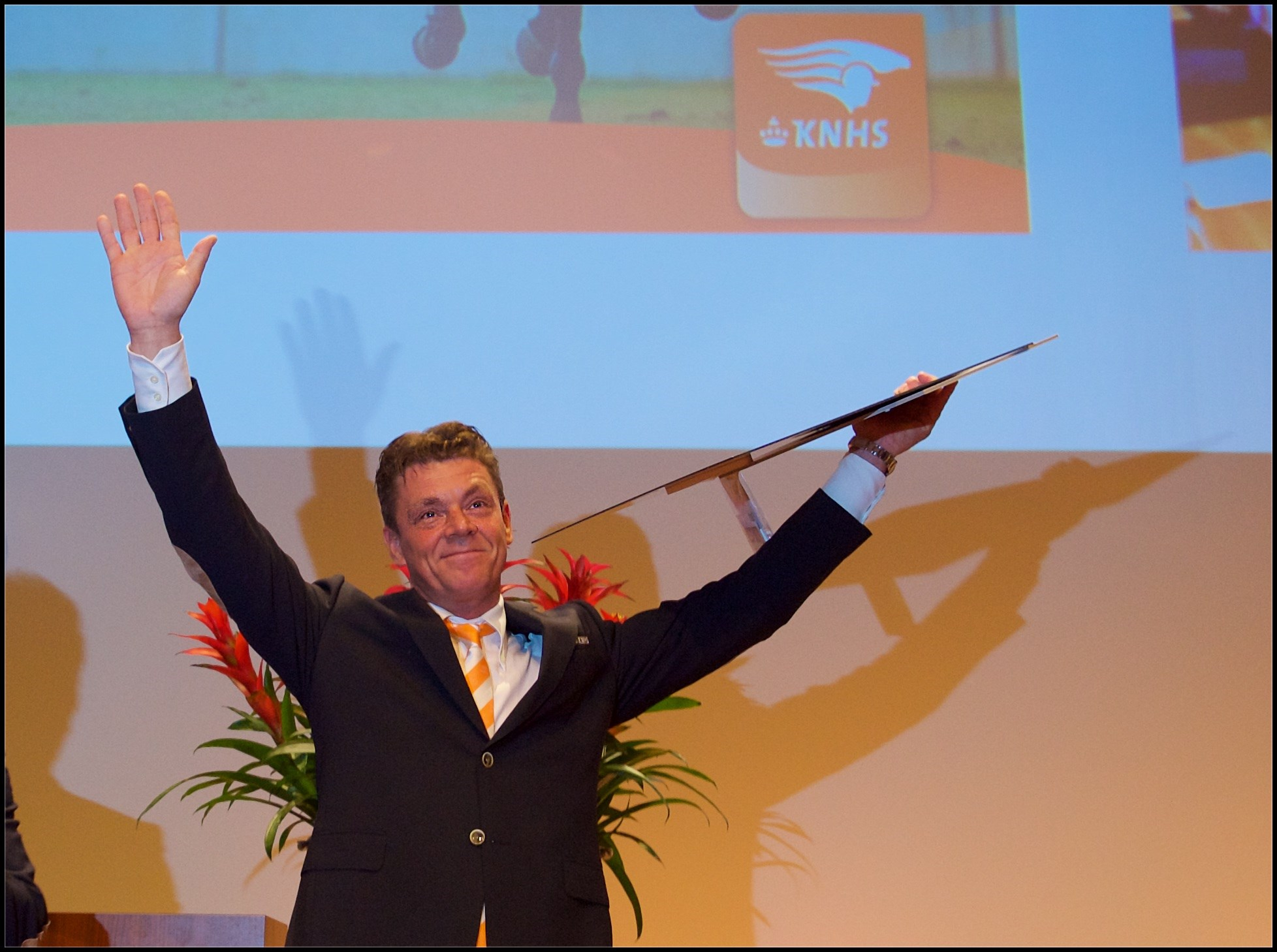 Impressie huldiging internationale paardensportkampioenen 2015